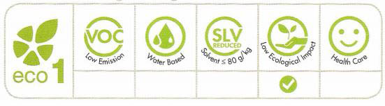 Ekološko razredčilo Slc Eco DD - Lastnosti