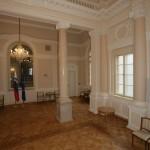 Predsedniška palača - Kristalna dvorana (Mozaični parket: Hrast oljen + Bordura št.21)