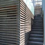 Termično obdelan jesen - Lesene Terase