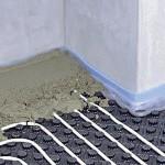 Priprava sistema za toplovnodno talno ogrevanje