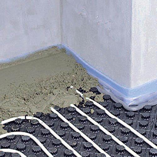 Как залить теплый пол