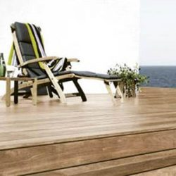 Kako očistiti in vzdrževati leseno teraso?