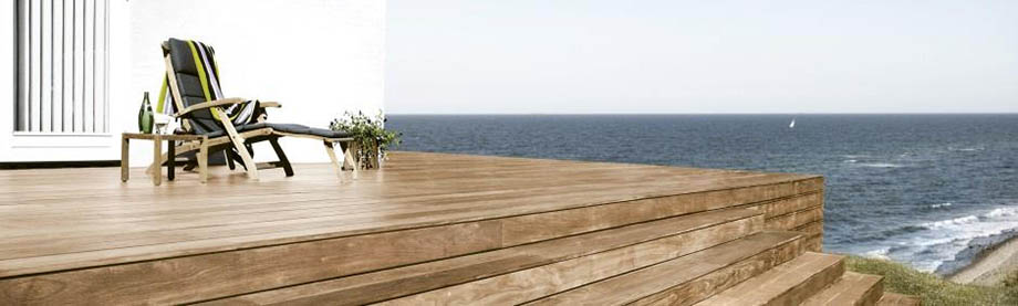 Kako očistiti in vzdrževati lesene terase