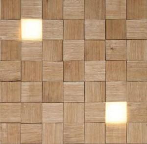 stenska obloga - natur + LED direktna svetloba