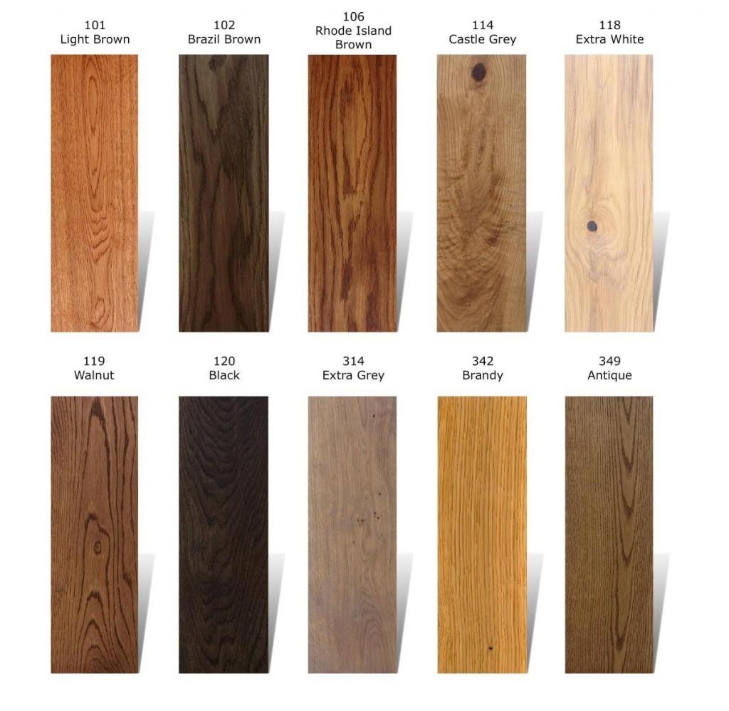 WOCA colour oil barve