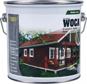 woca exterior paint - black, barva za zaščito in vzdrževanje lesa